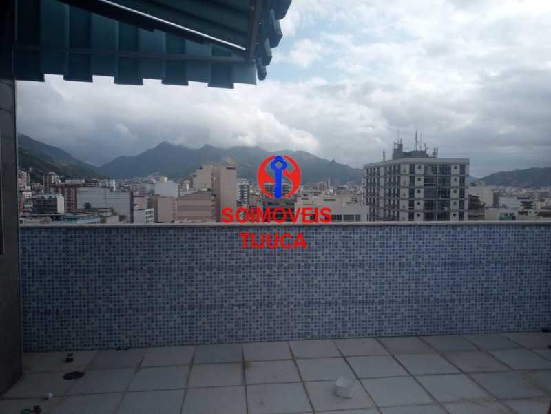 6-terr - Cobertura 3 quartos à venda Tijuca, Rio de Janeiro - R$ 940.000 - TJCO30035 - 22