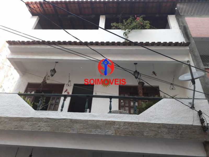 Frente  - Casa de Vila 2 quartos à venda Méier, Rio de Janeiro - R$ 850.000 - TJCV20077 - 1