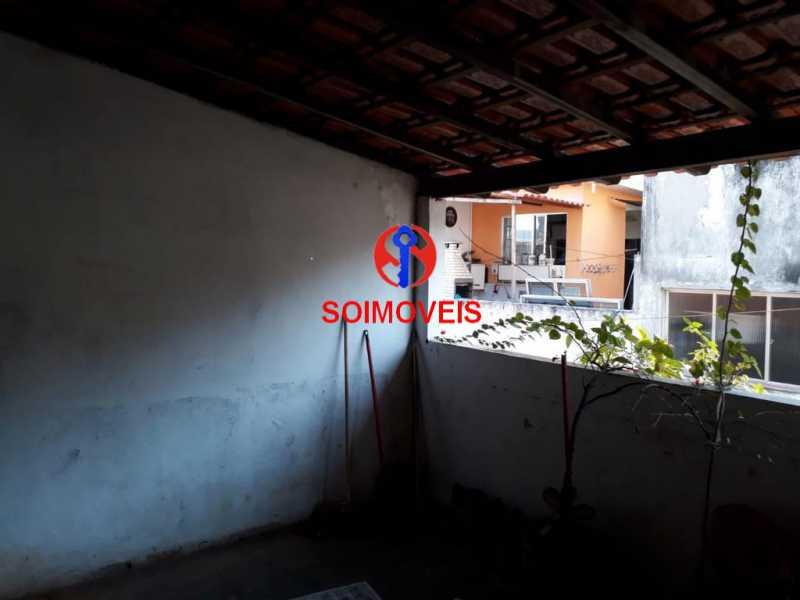 Terraço - Casa de Vila 2 quartos à venda Méier, Rio de Janeiro - R$ 850.000 - TJCV20077 - 16