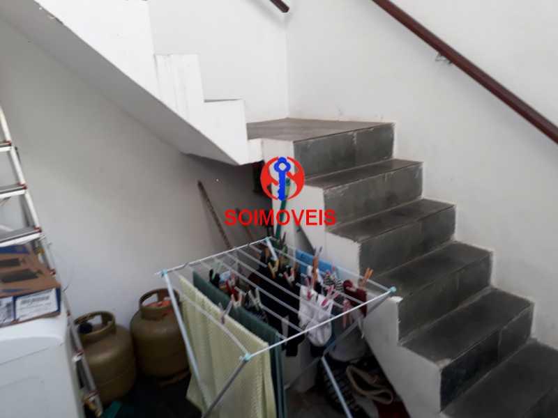 Área de serviço - Casa de Vila 2 quartos à venda Méier, Rio de Janeiro - R$ 850.000 - TJCV20077 - 11