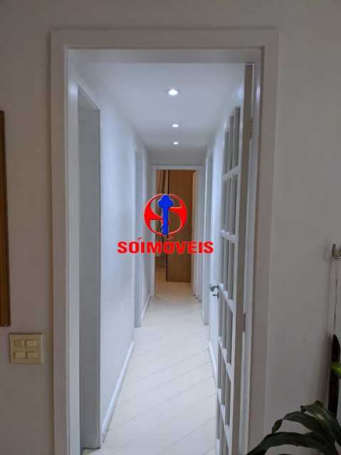 CORREDOR - Apartamento 3 quartos à venda Copacabana, Rio de Janeiro - R$ 755.000 - TJAP30489 - 9