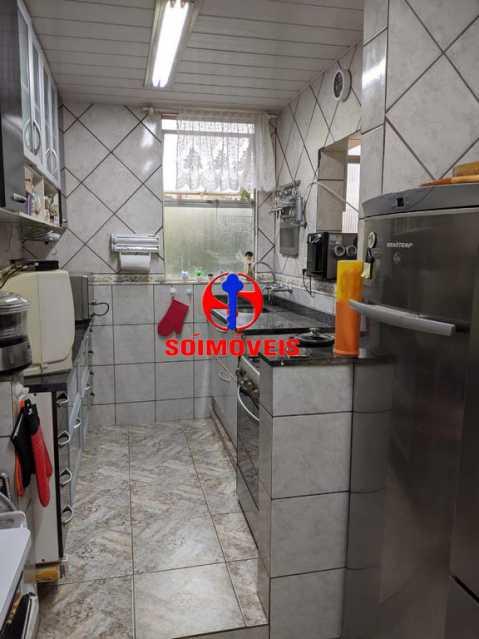COZINHA - Apartamento 3 quartos à venda Copacabana, Rio de Janeiro - R$ 755.000 - TJAP30489 - 6