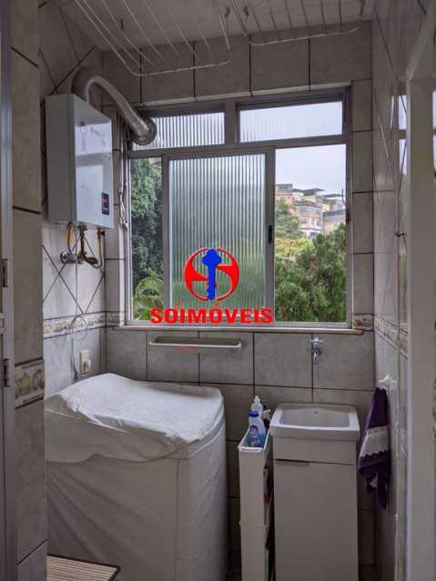 ÁREA DE SERVIÇO - Apartamento 3 quartos à venda Copacabana, Rio de Janeiro - R$ 755.000 - TJAP30489 - 22