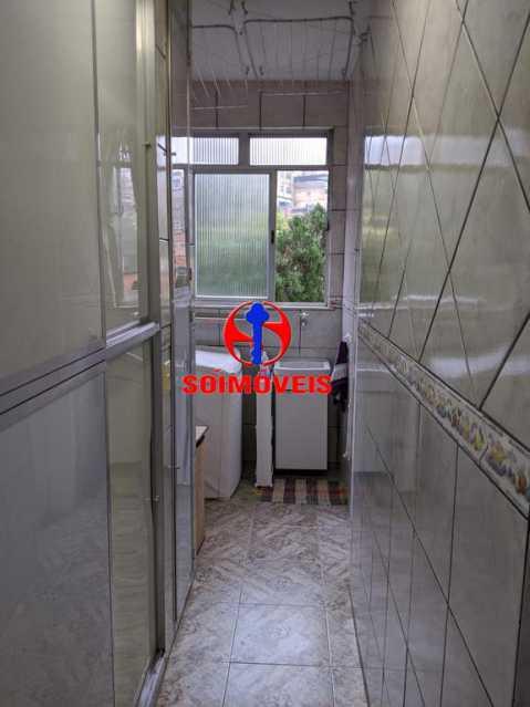 ÁREA DE SERVIÇO - Apartamento 3 quartos à venda Copacabana, Rio de Janeiro - R$ 755.000 - TJAP30489 - 21