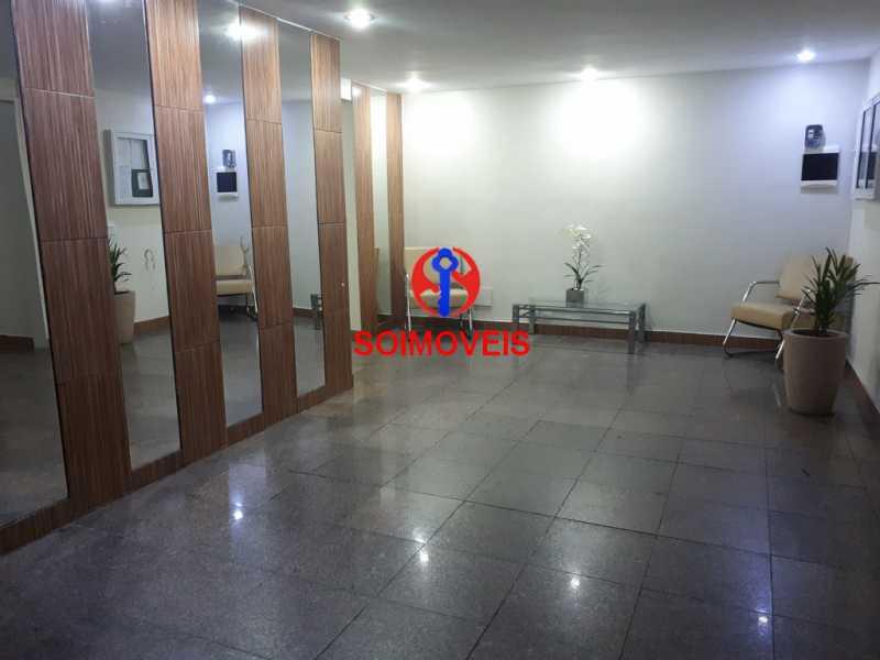 entrada.hall Cópia - Apartamento 2 quartos à venda Cachambi, Rio de Janeiro - R$ 415.000 - TJAP21081 - 1