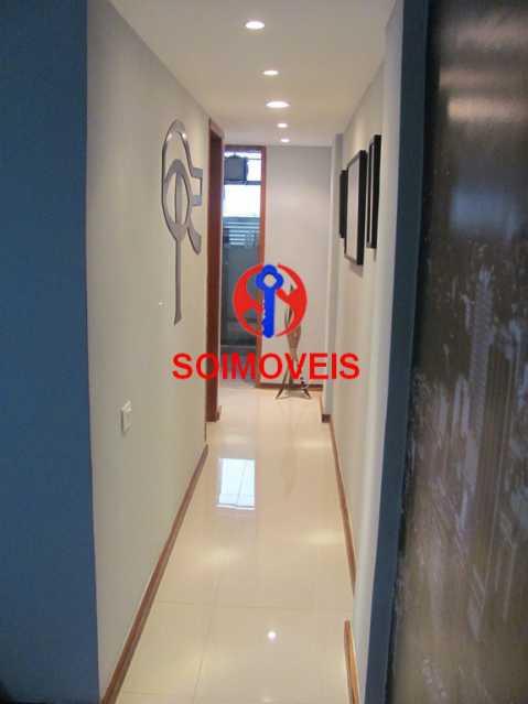 sala.corredCópia - Apartamento 2 quartos à venda Cachambi, Rio de Janeiro - R$ 415.000 - TJAP21081 - 7