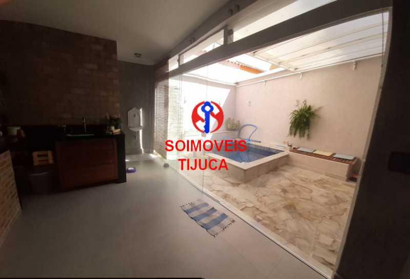 area externa - Casa de Vila 2 quartos à venda Tijuca, Rio de Janeiro - R$ 1.060.000 - TJCV20080 - 17
