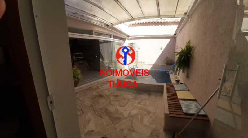 area externa2 - Casa de Vila 2 quartos à venda Tijuca, Rio de Janeiro - R$ 1.060.000 - TJCV20080 - 18