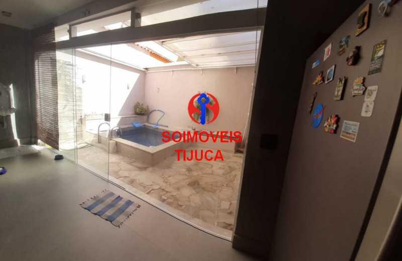 area externa3 - Casa de Vila 2 quartos à venda Tijuca, Rio de Janeiro - R$ 1.060.000 - TJCV20080 - 19