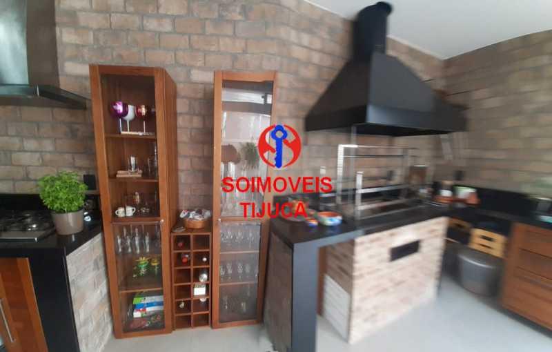 churras - Casa de Vila 2 quartos à venda Tijuca, Rio de Janeiro - R$ 1.060.000 - TJCV20080 - 20