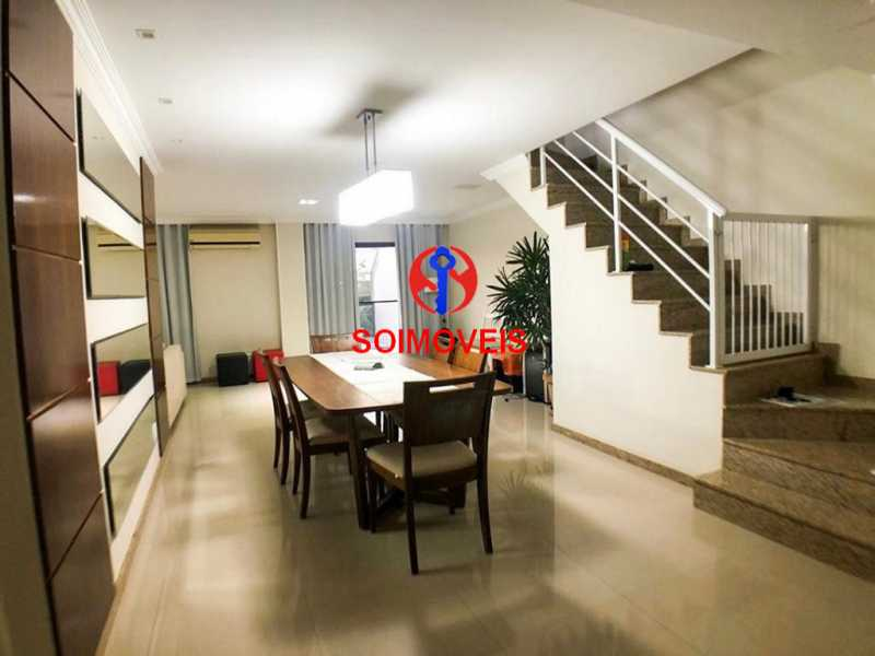 Sala - Cobertura 3 quartos à venda Recreio dos Bandeirantes, Rio de Janeiro - R$ 1.690.000 - TJCO30036 - 1