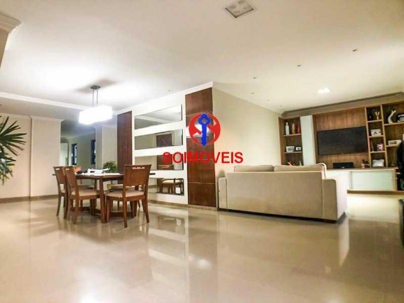 Sala - Cobertura 3 quartos à venda Recreio dos Bandeirantes, Rio de Janeiro - R$ 1.690.000 - TJCO30036 - 3