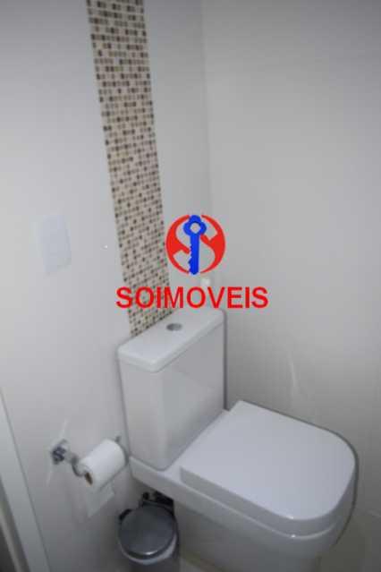 Banheiro - Cobertura 3 quartos à venda Recreio dos Bandeirantes, Rio de Janeiro - R$ 1.690.000 - TJCO30036 - 12