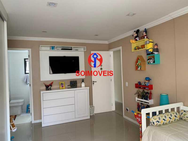 Suíte 2 - Cobertura 3 quartos à venda Recreio dos Bandeirantes, Rio de Janeiro - R$ 1.690.000 - TJCO30036 - 18
