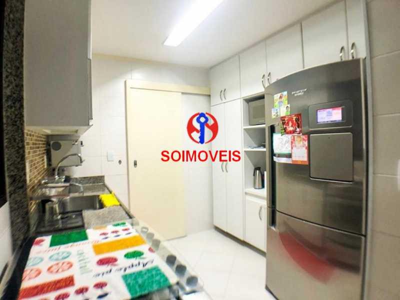 Cozinha - Cobertura 3 quartos à venda Recreio dos Bandeirantes, Rio de Janeiro - R$ 1.690.000 - TJCO30036 - 7