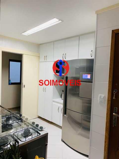 Cozinha - Cobertura 3 quartos à venda Recreio dos Bandeirantes, Rio de Janeiro - R$ 1.690.000 - TJCO30036 - 10