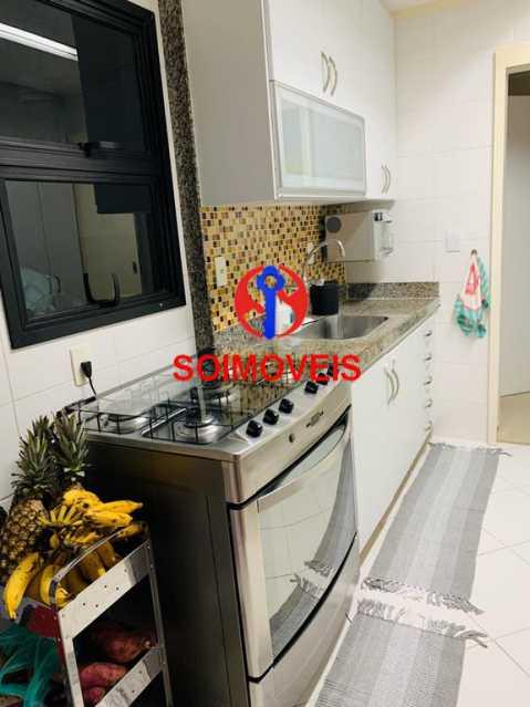 Cozinha - Cobertura 3 quartos à venda Recreio dos Bandeirantes, Rio de Janeiro - R$ 1.690.000 - TJCO30036 - 8