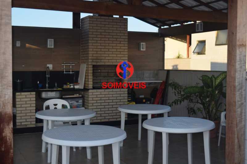 Terraço - Cobertura 3 quartos à venda Recreio dos Bandeirantes, Rio de Janeiro - R$ 1.690.000 - TJCO30036 - 26