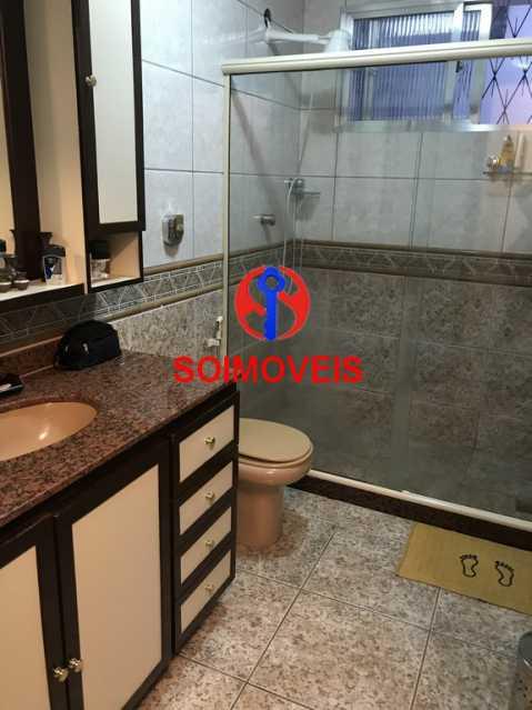 Banheiro social - Casa 5 quartos à venda Cachambi, Rio de Janeiro - R$ 900.000 - TJCA50011 - 10