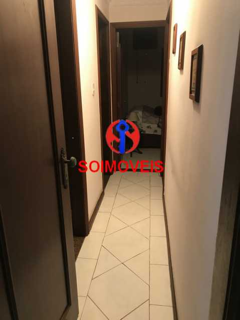 Corredor dos quartos - Casa 5 quartos à venda Cachambi, Rio de Janeiro - R$ 900.000 - TJCA50011 - 11