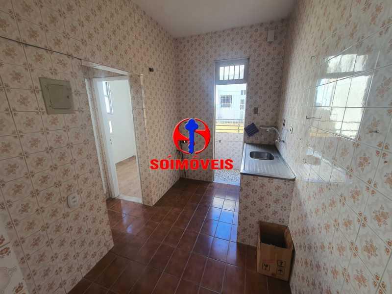 COZINHA - Apartamento 2 quartos à venda Riachuelo, Rio de Janeiro - R$ 300.000 - TJAP21088 - 4