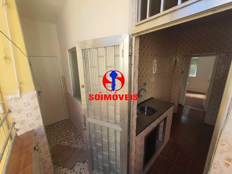 COZINHA E ÁREA - Apartamento 2 quartos à venda Riachuelo, Rio de Janeiro - R$ 300.000 - TJAP21088 - 6