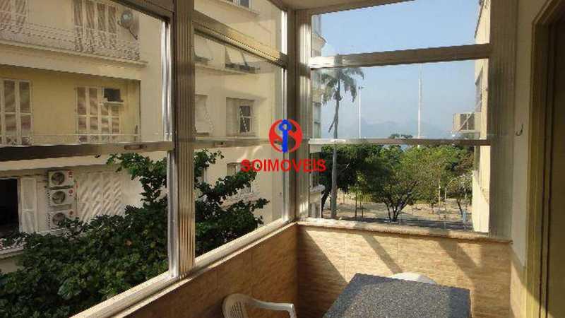 Varanda - Apartamento 4 quartos à venda Flamengo, Rio de Janeiro - R$ 899.000 - TJAP40037 - 5