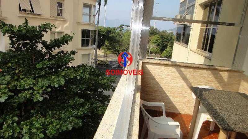 Varanda - Apartamento 4 quartos à venda Flamengo, Rio de Janeiro - R$ 899.000 - TJAP40037 - 6