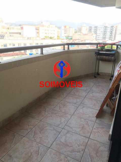Varanda - Apartamento 2 quartos à venda Cachambi, Rio de Janeiro - R$ 440.000 - TJAP21094 - 14