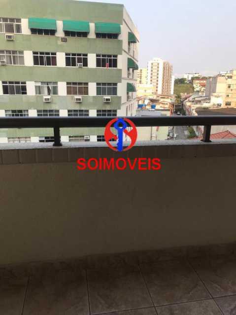 Vista da varanda - Apartamento 2 quartos à venda Cachambi, Rio de Janeiro - R$ 440.000 - TJAP21094 - 13