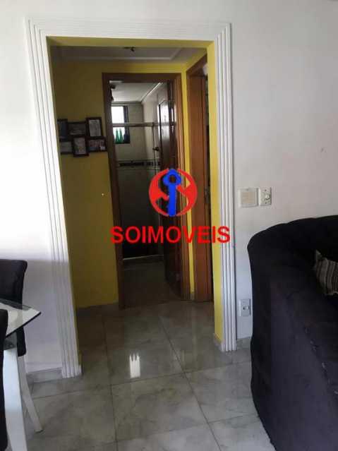 Acesso aos quartos - Apartamento 2 quartos à venda Cachambi, Rio de Janeiro - R$ 440.000 - TJAP21094 - 4