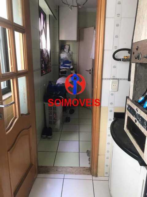 Acesso a área de serviço - Apartamento 2 quartos à venda Cachambi, Rio de Janeiro - R$ 440.000 - TJAP21094 - 10