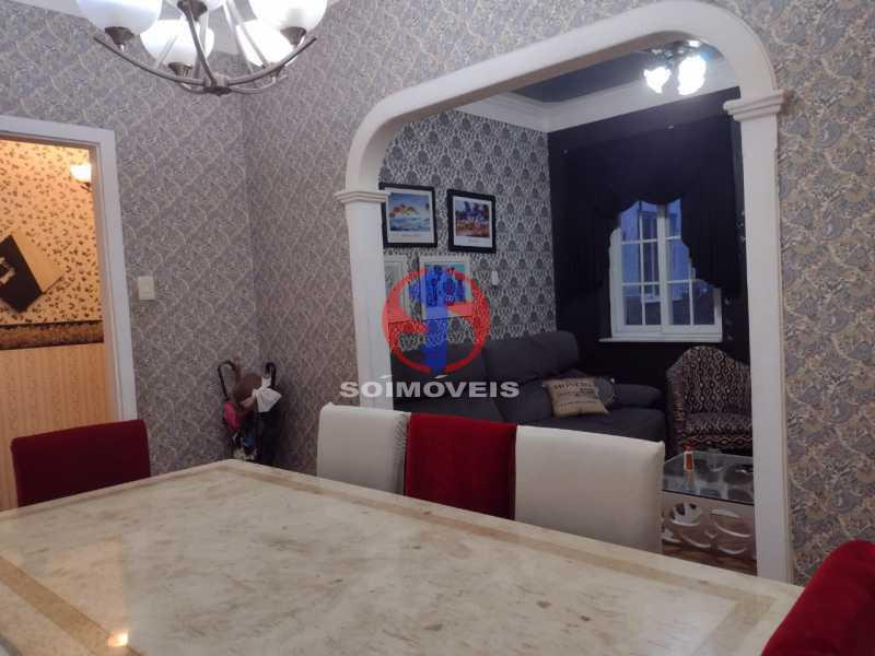 SALA DE JANTAR - Casa 4 quartos à venda Grajaú, Rio de Janeiro - R$ 1.380.000 - TJCA40030 - 5