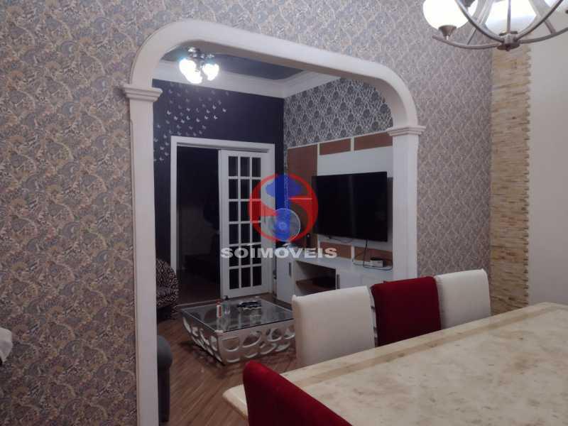 SALA DE JANTAR  - Casa 4 quartos à venda Grajaú, Rio de Janeiro - R$ 1.380.000 - TJCA40030 - 6