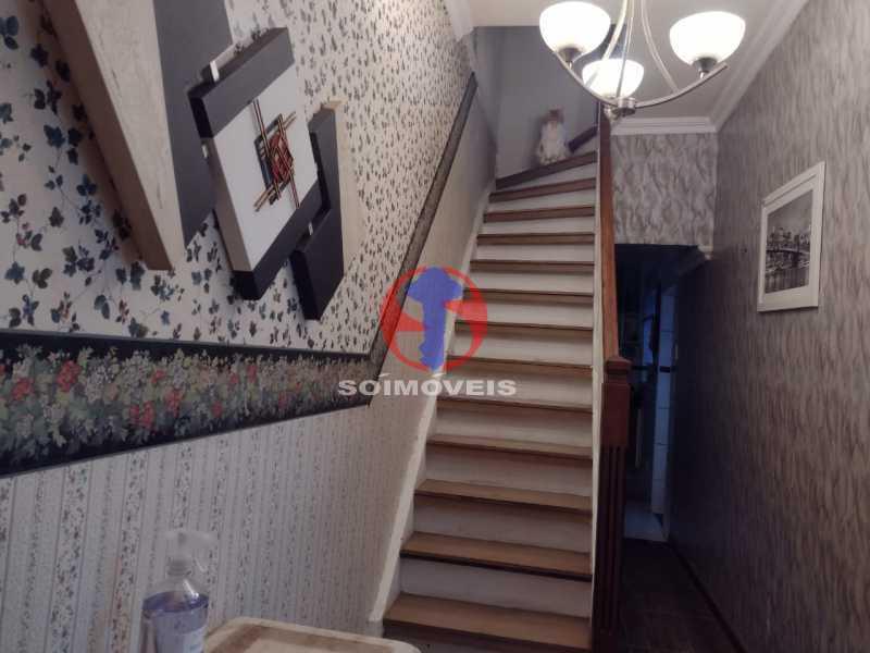 ESCADA - Casa 4 quartos à venda Grajaú, Rio de Janeiro - R$ 1.380.000 - TJCA40030 - 11