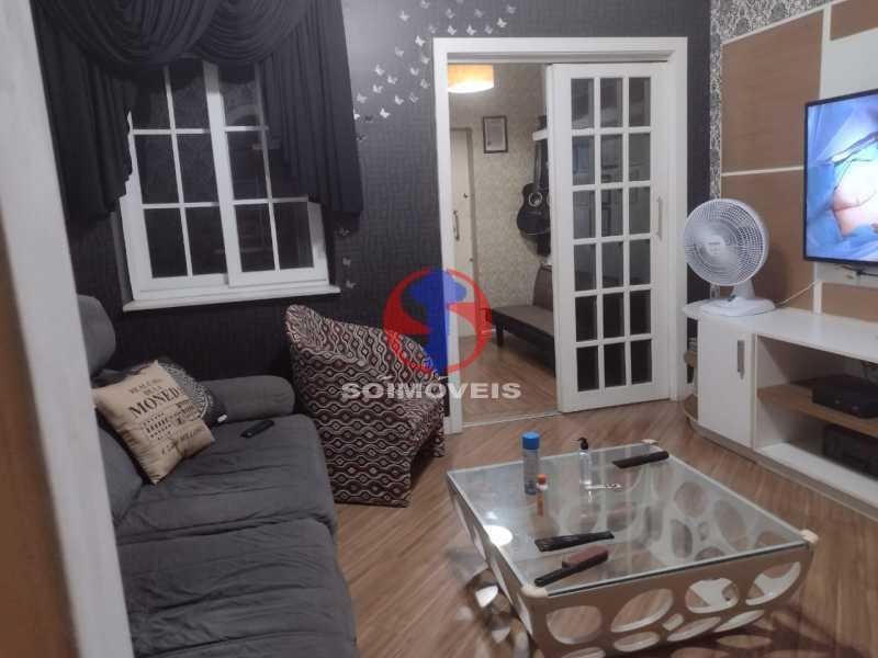 SALA DE ESTAR  - Casa 4 quartos à venda Grajaú, Rio de Janeiro - R$ 1.380.000 - TJCA40030 - 8