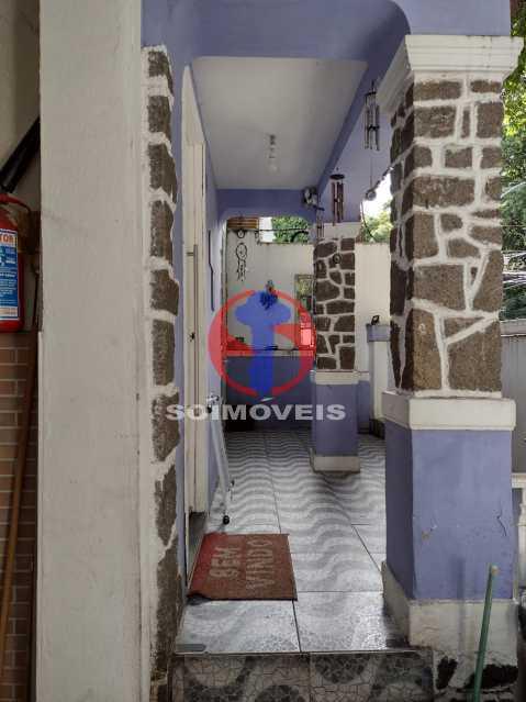 ENTRADA DA CASA  - Casa 4 quartos à venda Grajaú, Rio de Janeiro - R$ 1.380.000 - TJCA40030 - 3