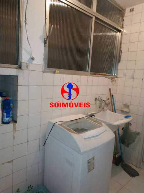 ÁREA DE SERVIÇO - Apartamento 2 quartos à venda Grajaú, Rio de Janeiro - R$ 430.000 - TJAP21106 - 10