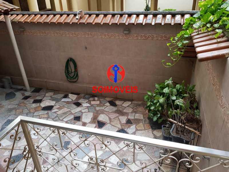 Quintal - Apartamento 3 quartos à venda Vila Isabel, Rio de Janeiro - R$ 789.000 - TJAP30500 - 30