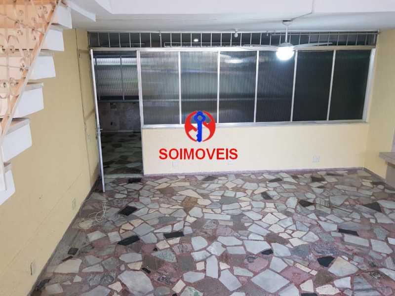 Quintal - Apartamento 3 quartos à venda Vila Isabel, Rio de Janeiro - R$ 789.000 - TJAP30500 - 28
