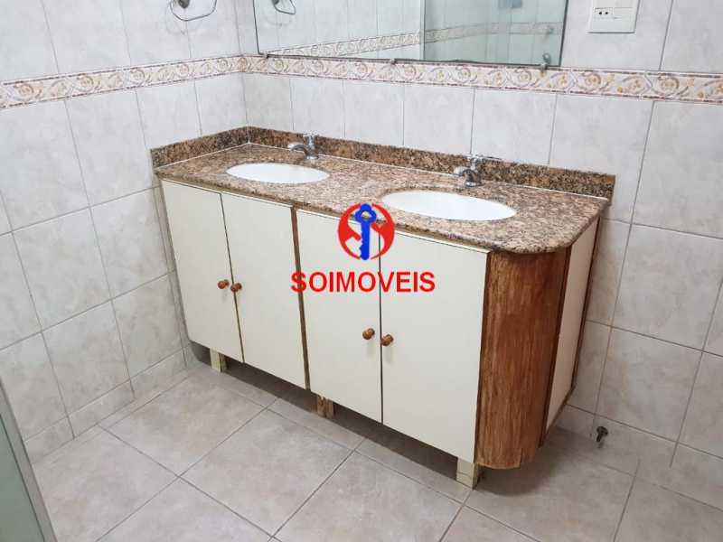 Banheiro social - Apartamento 3 quartos à venda Vila Isabel, Rio de Janeiro - R$ 789.000 - TJAP30500 - 18