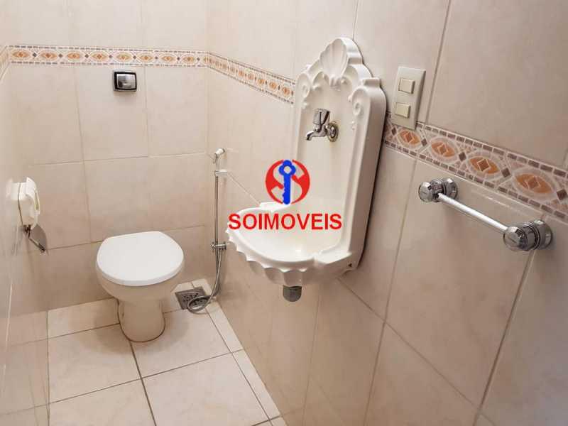 Lavabo - Apartamento 3 quartos à venda Vila Isabel, Rio de Janeiro - R$ 789.000 - TJAP30500 - 17