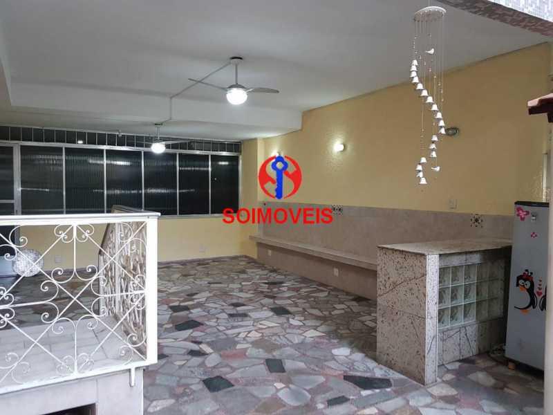 Quintal - Apartamento 3 quartos à venda Vila Isabel, Rio de Janeiro - R$ 789.000 - TJAP30500 - 27