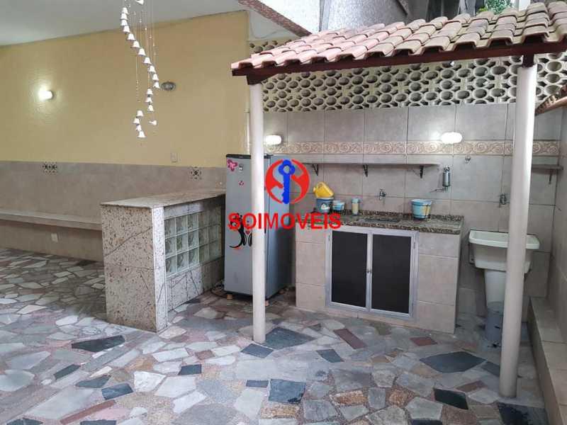 Quintal - Apartamento 3 quartos à venda Vila Isabel, Rio de Janeiro - R$ 789.000 - TJAP30500 - 29