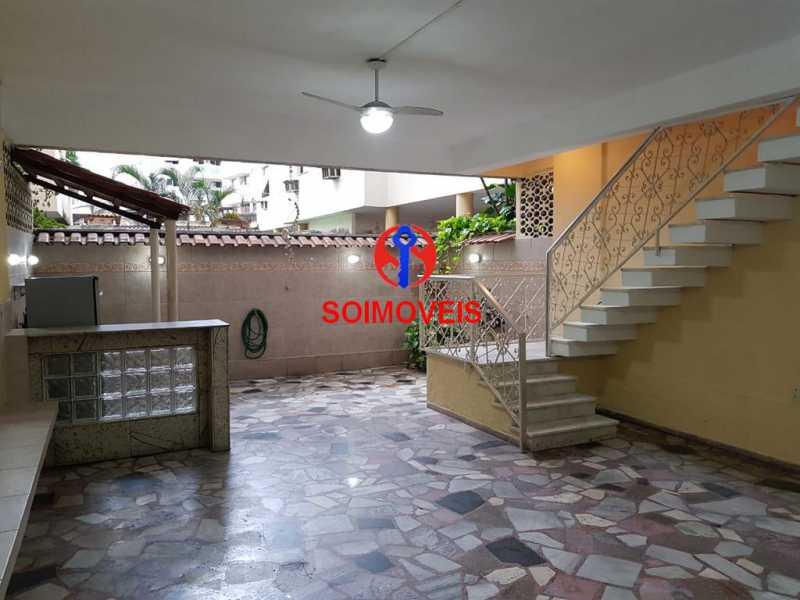 Quintal - Apartamento 3 quartos à venda Vila Isabel, Rio de Janeiro - R$ 789.000 - TJAP30500 - 26