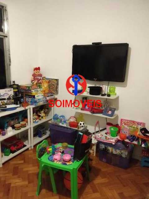 Quarto 3 - Apartamento 4 quartos à venda Rio Comprido, Rio de Janeiro - R$ 630.000 - TJAP40035 - 12