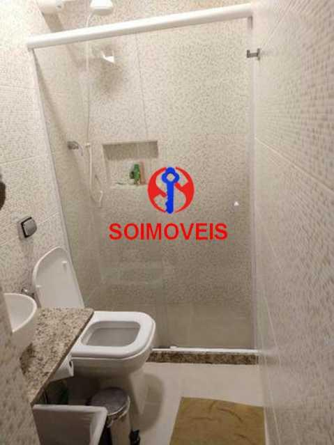 Banheiro da suíte - Apartamento 4 quartos à venda Rio Comprido, Rio de Janeiro - R$ 630.000 - TJAP40035 - 17