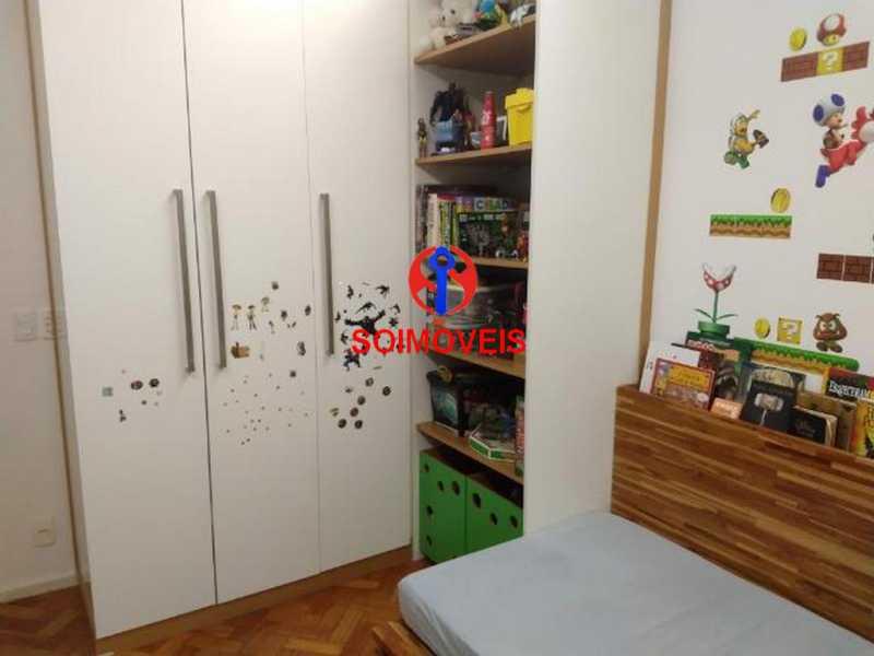 Quarto - Apartamento 4 quartos à venda Rio Comprido, Rio de Janeiro - R$ 630.000 - TJAP40035 - 6