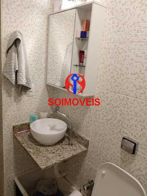 Banheiro da suíte - Apartamento 4 quartos à venda Rio Comprido, Rio de Janeiro - R$ 630.000 - TJAP40035 - 16