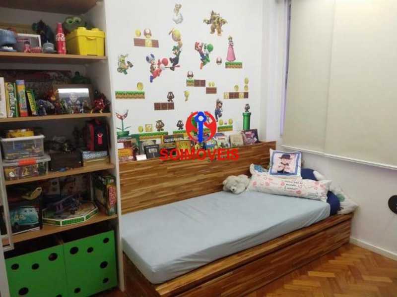 Quarto - Apartamento 4 quartos à venda Rio Comprido, Rio de Janeiro - R$ 630.000 - TJAP40035 - 5